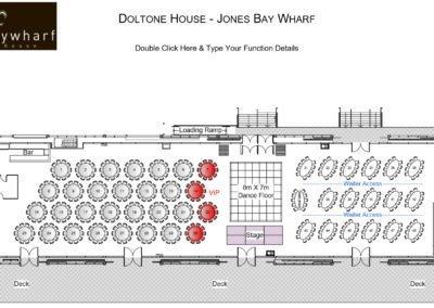 Doltone House- Jones Bay Wharf Floor Plan