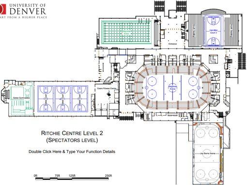 University Scaled Site Plan